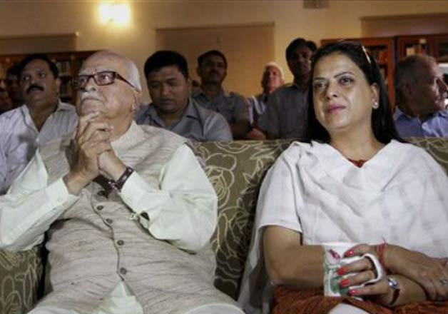 Pratibha Advani with her father
