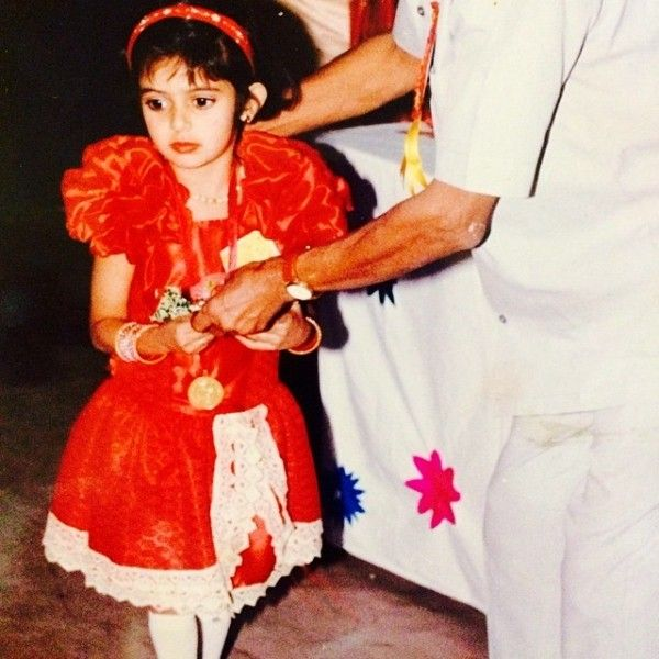 Sana Sayyad's childhood picture