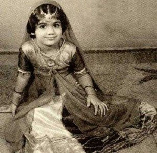 Shilpa Shetty In Her Childhood