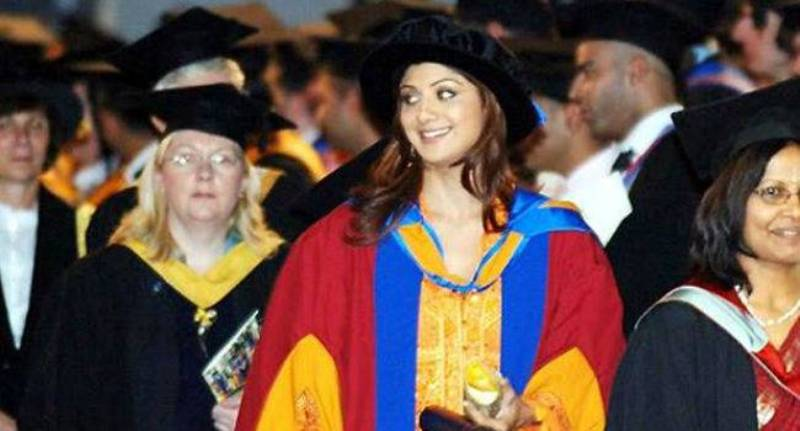 Shilpa Shetty Received Honorary Doctorate by the University of Leeds