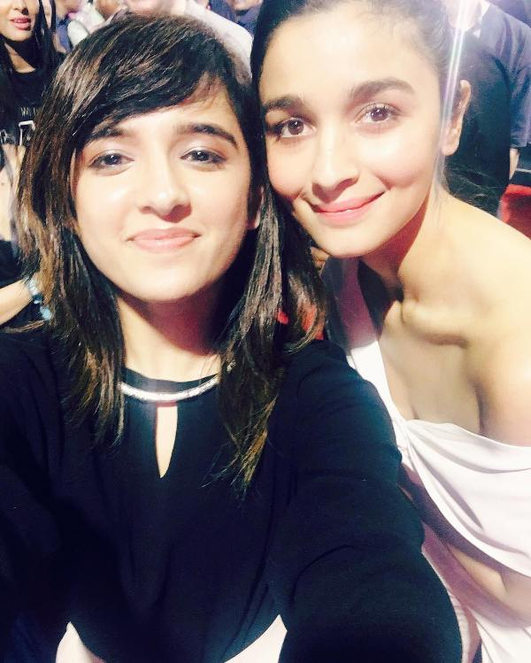 Shirley Setia with Alia Bhatt