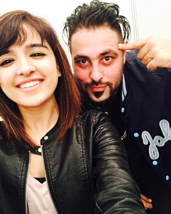 Shirley Setia with badshah