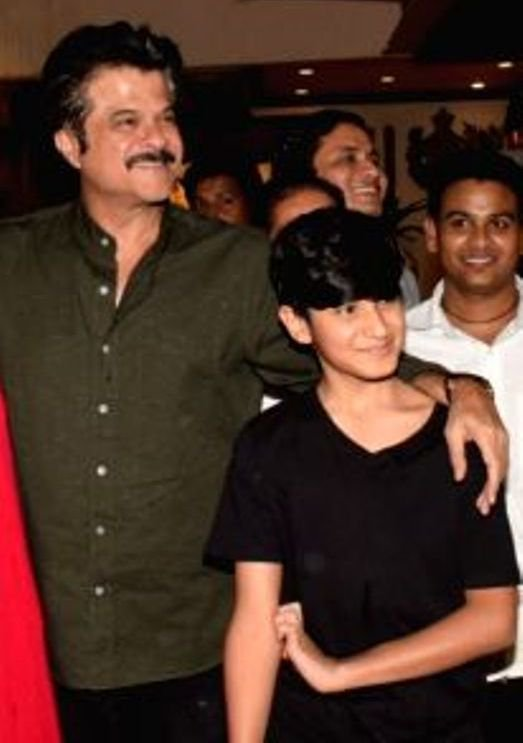 Sunita Kapoors Husband Anil Kapoor With His Nephew Jahaan Kapoor