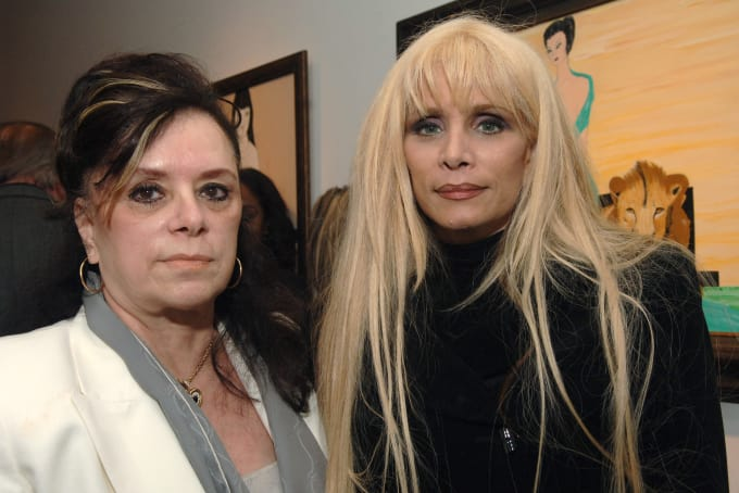 Victoria DiGiorgio with her daughter Victoria Gotti