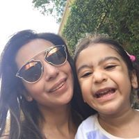Wife and daughter of Abhishek Banerjee