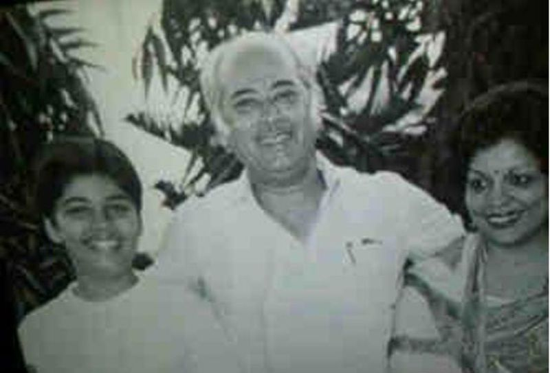Yash Johar With Hiroo Johar And Karan Johar