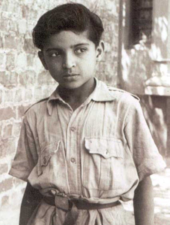 13 Year Old Javed Akhtar