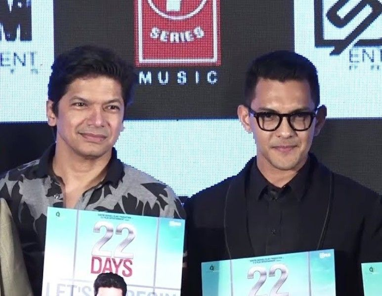 Aditya Narayan with Shaan