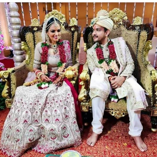 Aditya Narayan's Wedding Photo