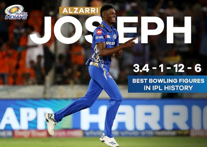Alzarri Joseph's Record Breaking Performance In The History Of IPL