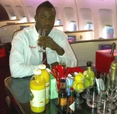 Andre Russell drinks alcohol