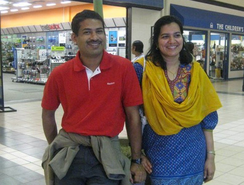Aparajita Sarangi And Her Husband Santosh Kumar Sarangi