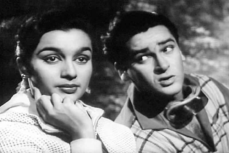 Asha Parekh And Shammi Kapoor