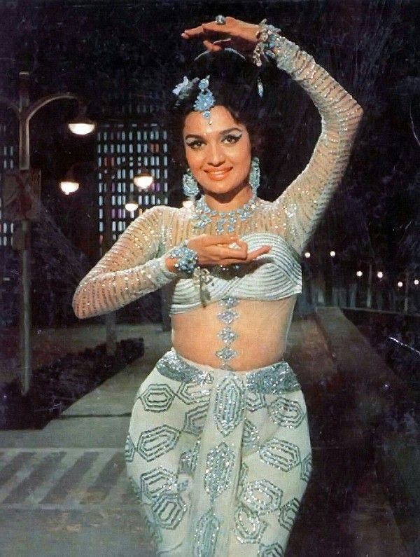 Asha Parekh Striking A Pose Of Dance
