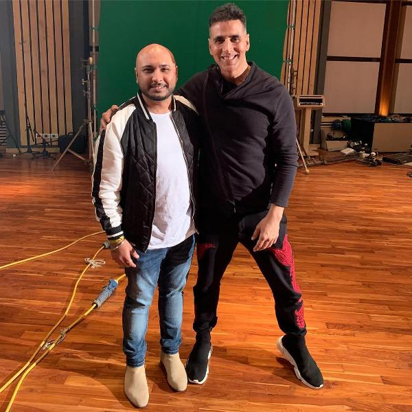 B Praak with Akshay Kumar