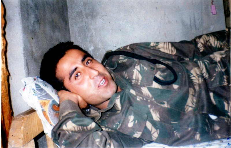 Captain Vikram Batra In A Training Camp
