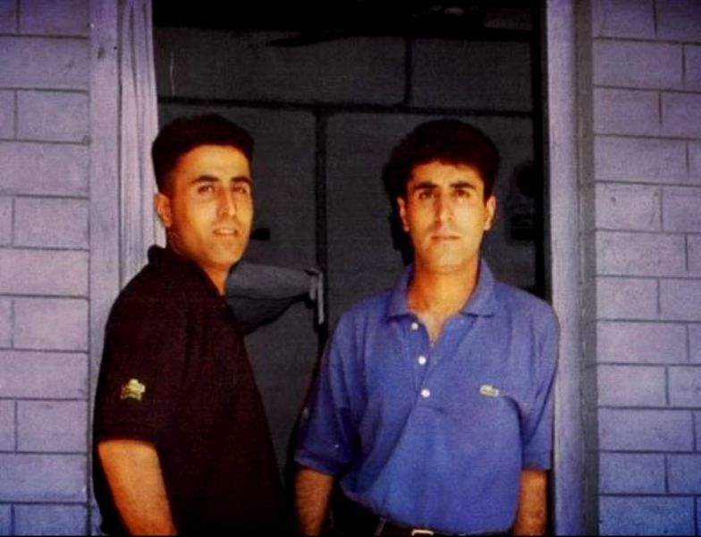 Captain Vikram Batra With His Twin Brother Vishal Batra