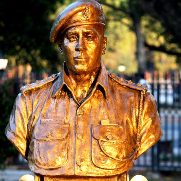 Captain Vikram Batra's Statue At National War Memorial, New Delhi