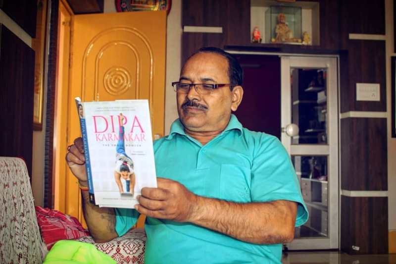 Dipa Karmakar father
