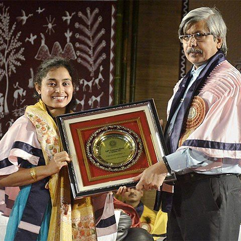 Dipa Karmakar honoured by NIT