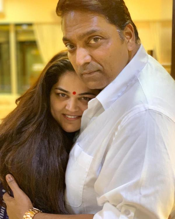 Ganesh Acharya With His Wife Vidhi Acharya