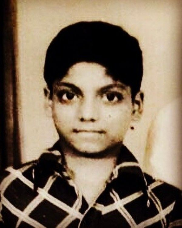 Ganesh Acharya's Childhood Photo