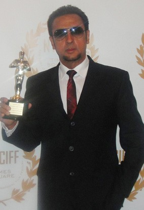 Gulshan Grover with New York City International Film Festival Award