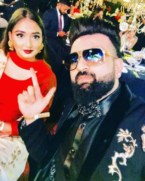 Hans Raj Hans elder son and daughter in law
