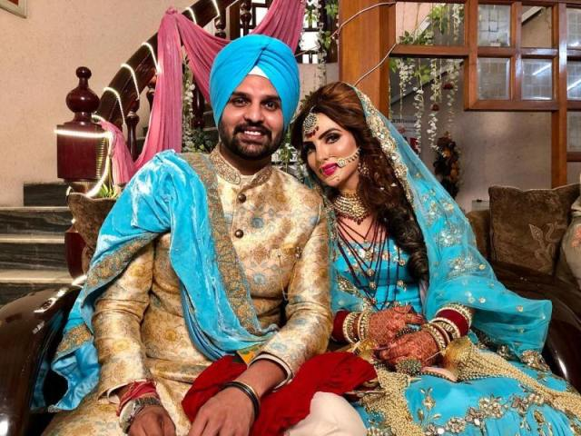 Hans Raj Hans younger son and daughter in law