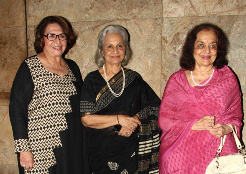 Helen, Waheeda Rehman And Asha Parekh