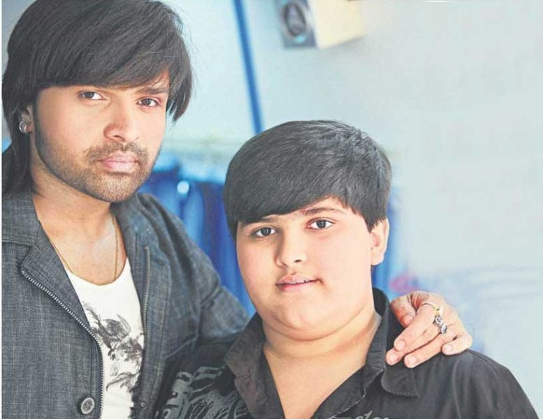 Himesh Reshammiya And His Son Swayam
