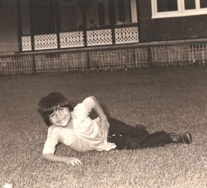 Himesh Reshammiya As A Child