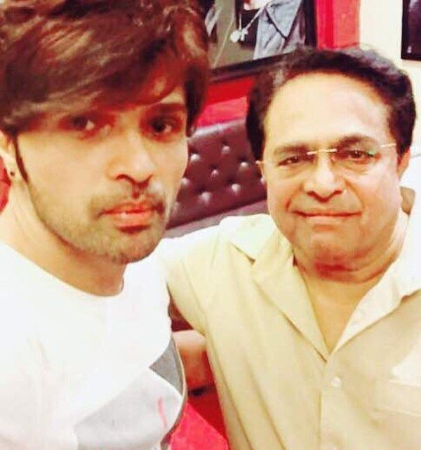 Himesh Reshammiya With His Father Vipin Reshammiya