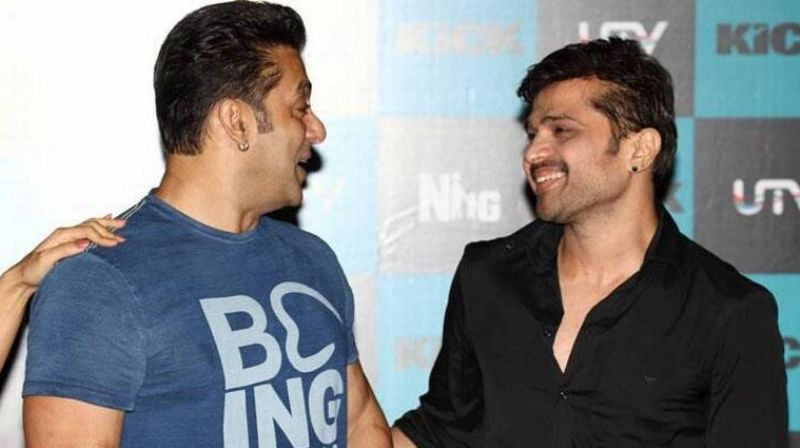 Himesh Reshammiya With Salman Khan
