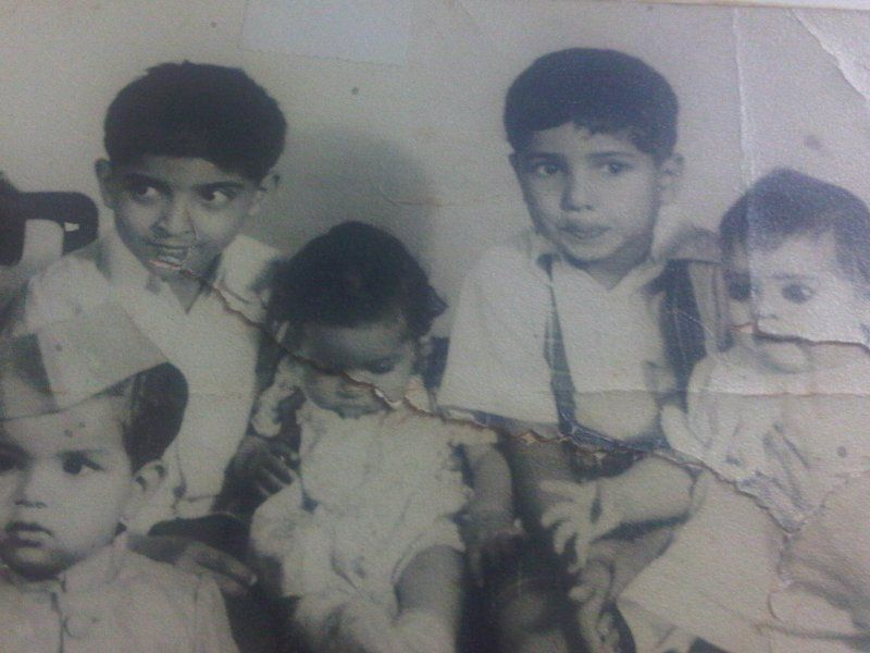 Javed Akhtar With His Siblings