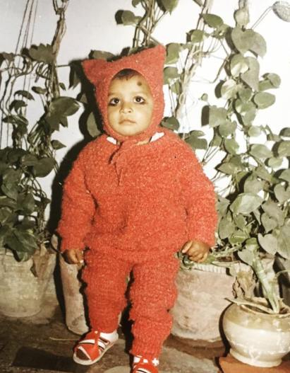 Jitendra Kumar's Childhood Picture
