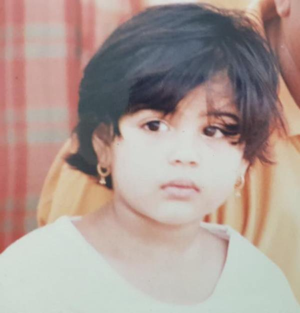 Kalyani Priyadarshan In Her Childhood