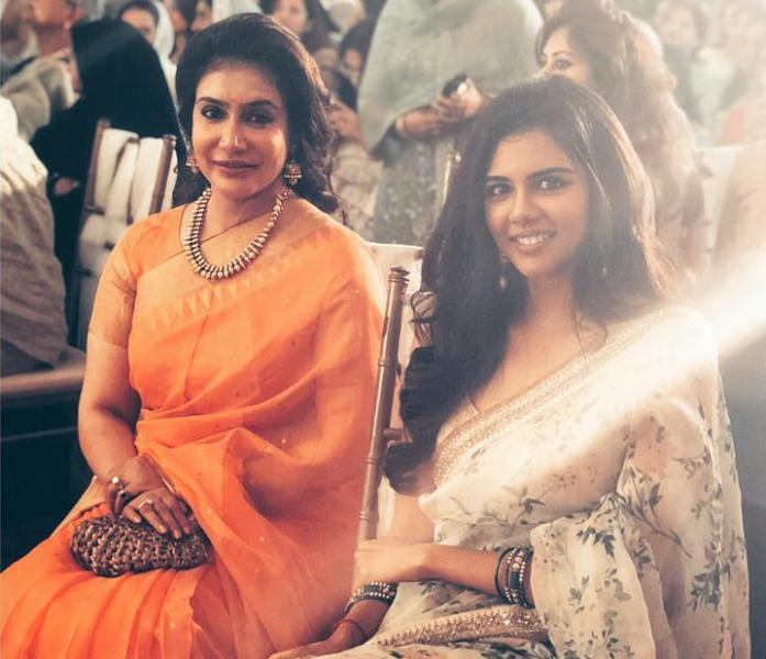Kalyani Priyadarshan With Her Mother Lissy Lakshmi