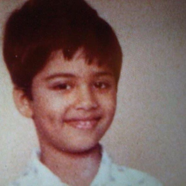 Karan Johar As A Child