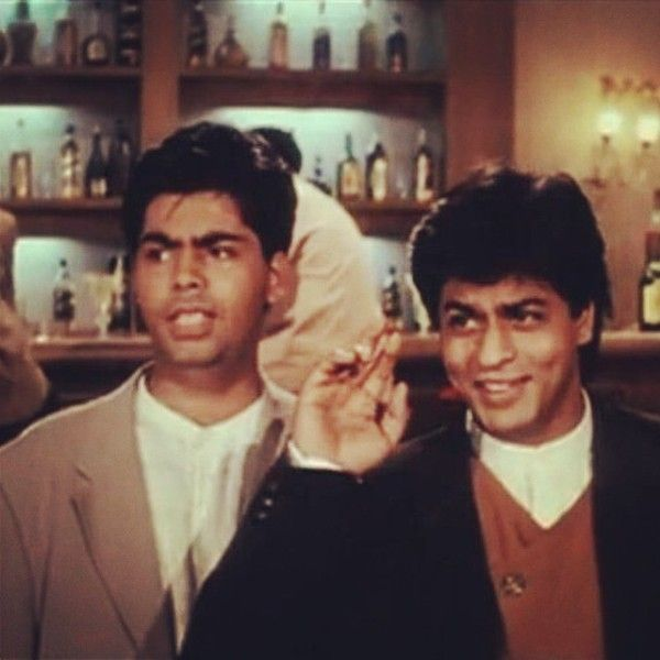 "Karan Johar In A Scene From The Movie ""Dilwale Dulhania Le Jayenge"""
