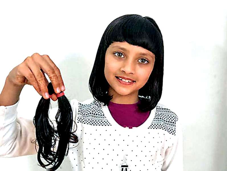 Kashwini Gehlot Participating In Hair Donation