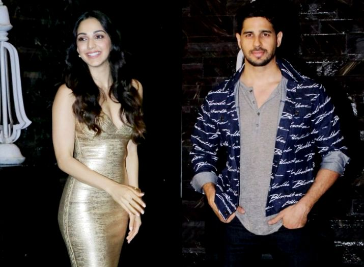 Kiara Advani And Sidharth Malhotra