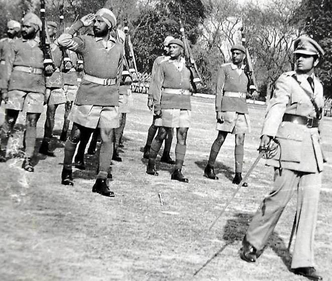 Kiran Bedi Leading The Delhi Police Contingent