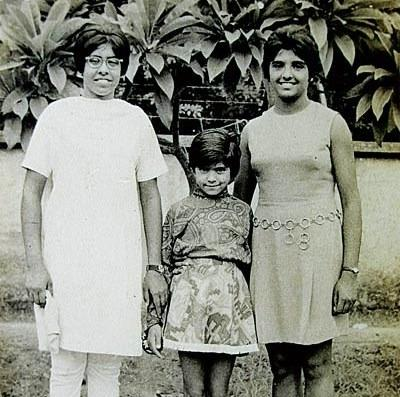 Kiran Bedi in her young age