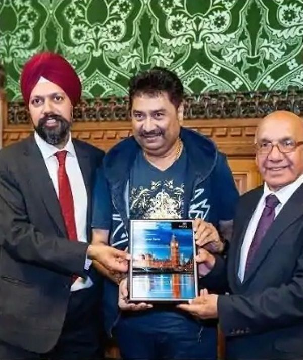 Kumar Sanu Felicitation at the UK Houses of Parliament
