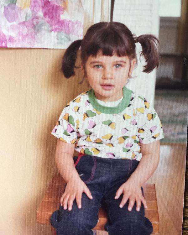 Lisa Ray As A Child