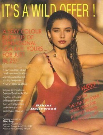 Lisa Ray On The Cover Of Glad Rags