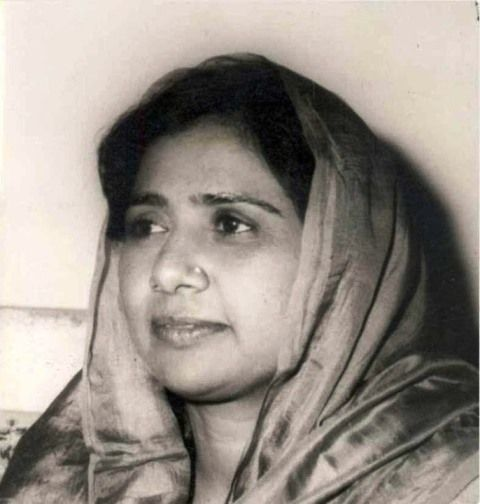 Early photo of Mayawati