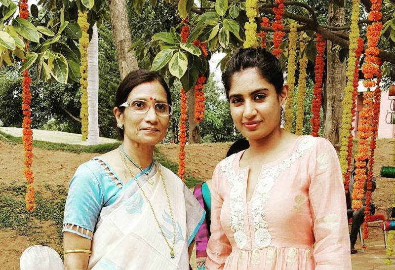 Mithali Raj And Her Mother, Leela Raj