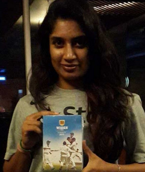 Mithali Raj- Wisden Indian Cricketer of the year